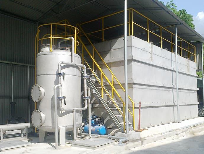 Công trình xử lý nước thải viexim