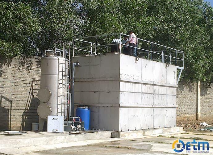 Modul hợp khối xử lý nước thải xuân thành