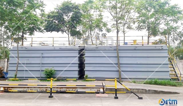 Phương pháp xử lý nước thải sinh hoạt bằng bể hợp khối modul