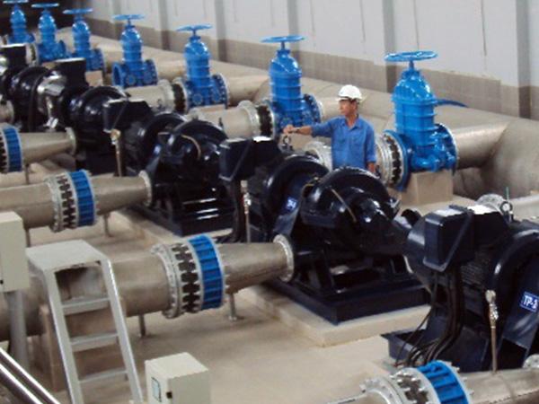 Hệ thống xử lý nước cấp tại nhà máy nước ngọt