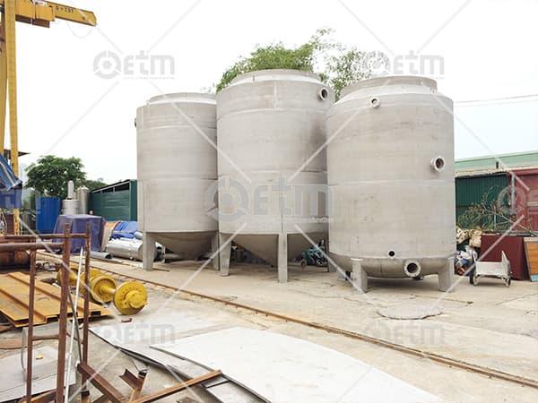 Gia công cơ khí - bồn- tăng - téc công nghiệp