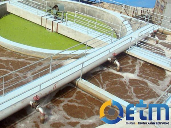 Mô phỏng công nghệ xử lý nước thải