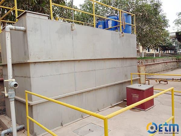Công trình xử lý nước thải sinh hoạt Prime Vĩnh Phúc