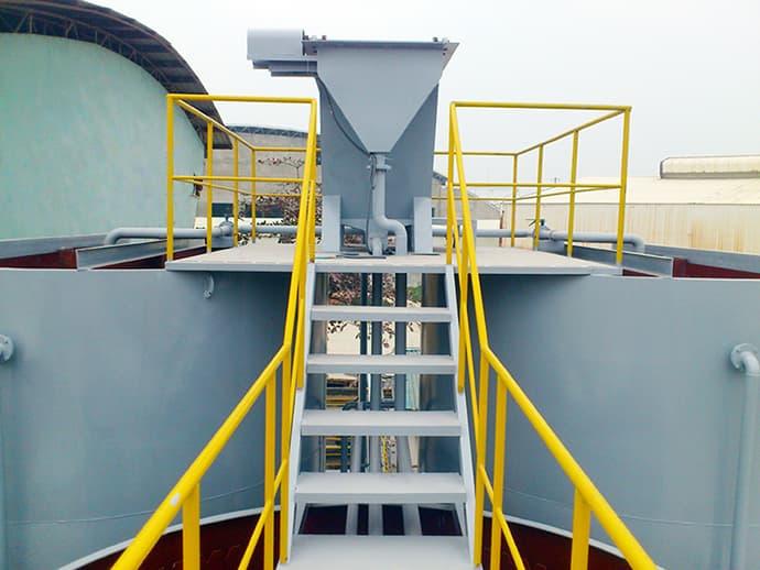 Công trình xử lý nước thải nhà máy Prime Yên Bình