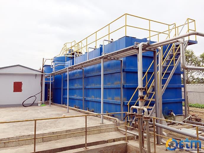 Xử lý nước thải bằng bể hợp khối - ETM-hika