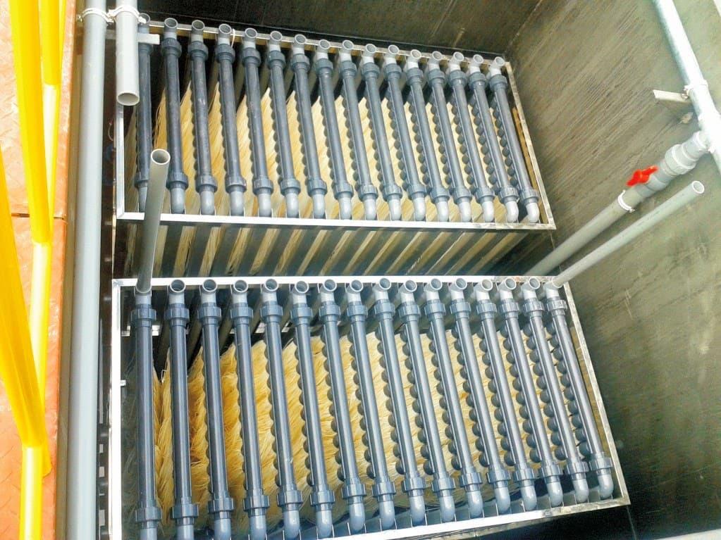 hệ thống xử lý nước thải sử dụng màng MBR