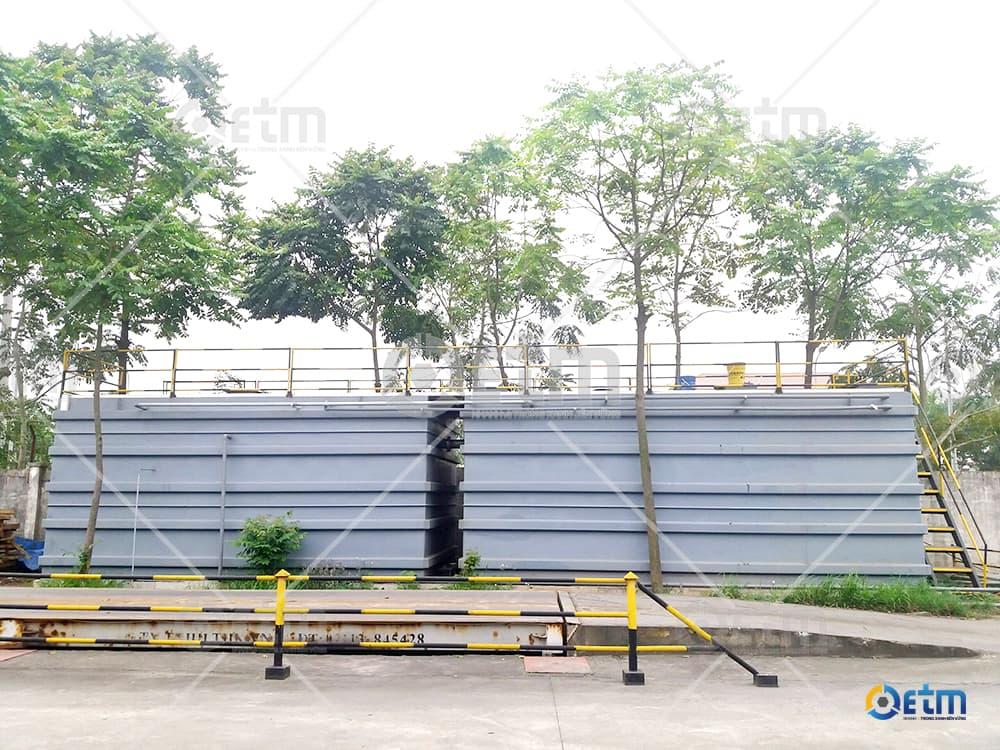So sánh hợp khối ETM-Hika và bể bê tông xây dựng truyền thống