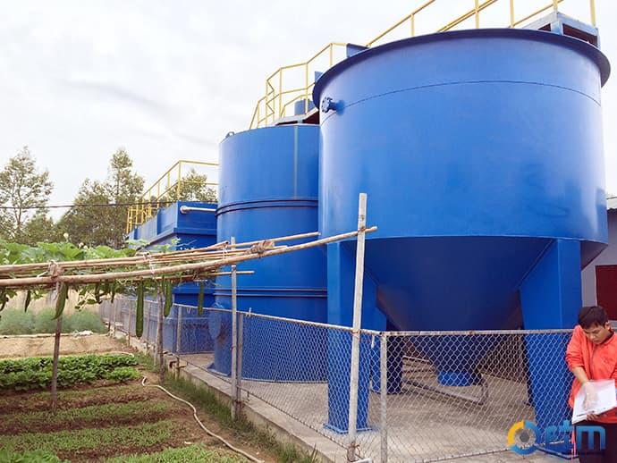 Công trình xử lý nước thải sản xuất thực phẩm GOC(12)