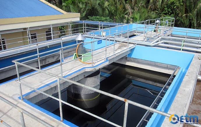 công trình xử lý nước thải sinh hoạt đạt chuẩn