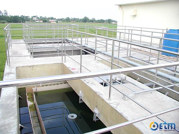 Xử lý nước thải sinh hoạt tại tòa nhà chung cư